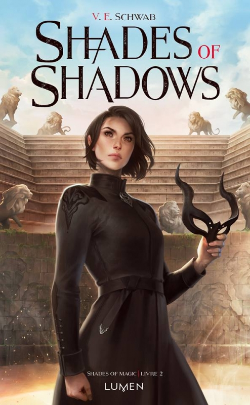 Couverture Shades of magic, tome 2 : Shades of shadows