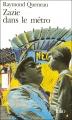 Couverture Zazie dans le métro Editions Folio  1992