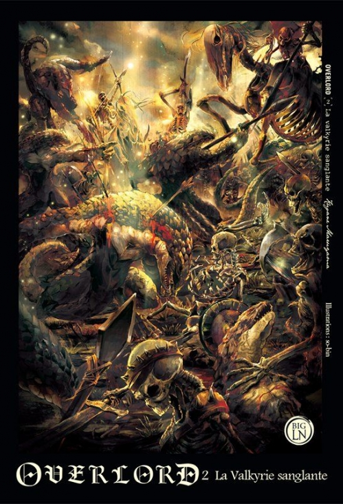 Couverture Overlord, tome 2 : La Valkyrie sanglante