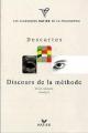 Couverture Discours de la méthode / Le discours de la méthode Editions Hatier (Classiques & cie - Philosophie / Philo) 1999