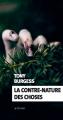 Couverture La contre-nature des choses Editions Actes Sud (Exofictions) 2018