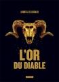 Couverture L'or du diable Editions L'Atalante (La Dentelle du cygne) 2018