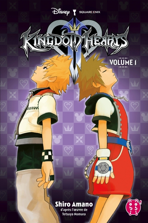 Couverture Kingdom Hearts II, intégrale, tome 1