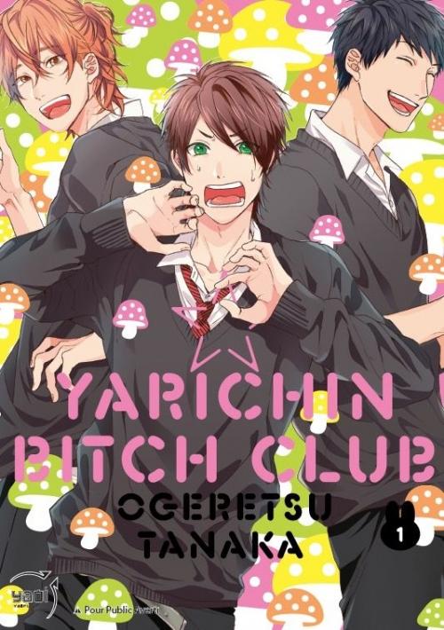 Couverture Yarichin bitch club, tome 1