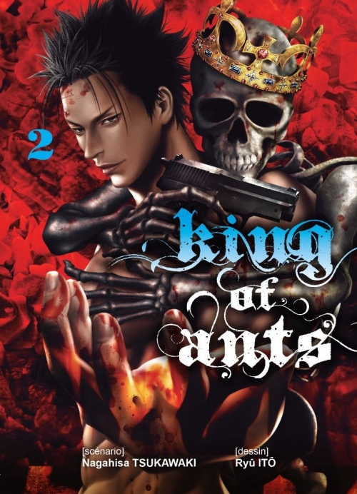 Couverture King of ants, tome 2