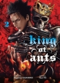 Couverture King of ants, tome 2 Editions Komikku 2018
