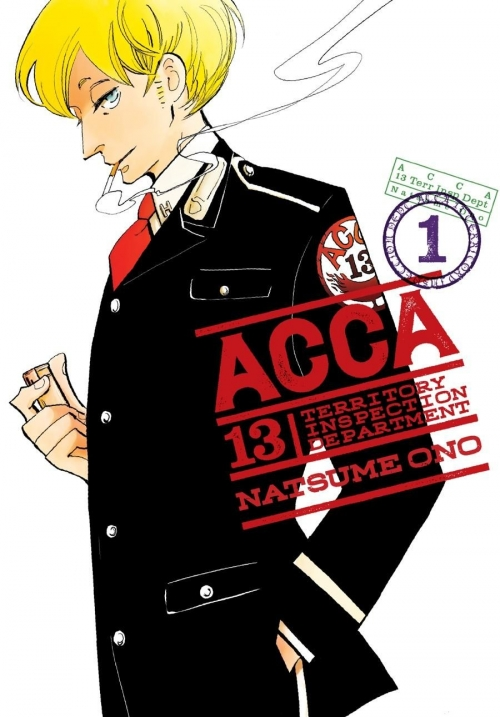 Couverture ACCA 13 : Territory inspection department, tome 1