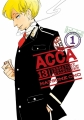 Couverture ACCA 13 : Territory inspection department, tome 1 Editions Yen Press 2017