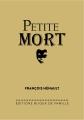 Couverture Petite mort Editions Bijoux de Famille 2017