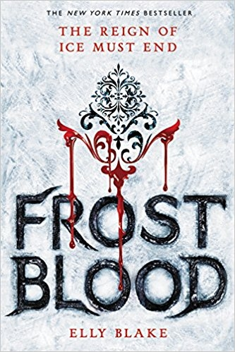 Couverture The Frostblood Saga, book 1: Frostblood