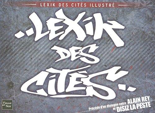 Couverture Lexik des cités illustré