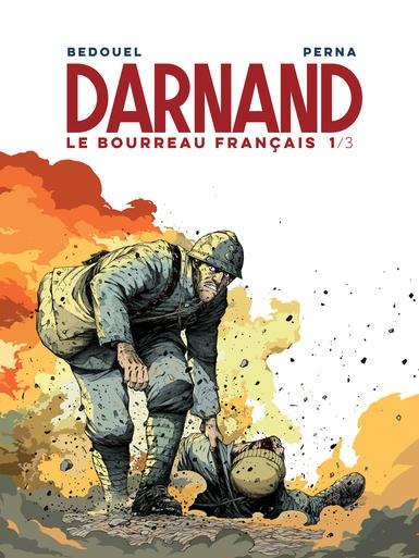 Couverture Darnand le bourreau français, tome 1