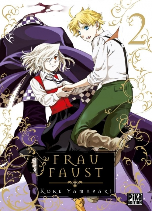 Couverture Frau Faust, tome 2