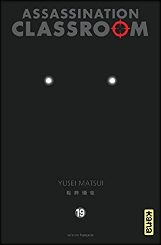 Couverture Assassination Classroom, tome 19