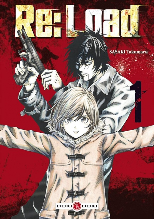 Couverture Re:Load, tome 1