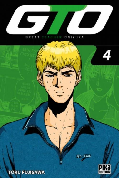 Couverture GTO, tome 04