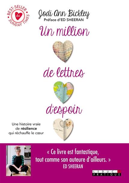 Couverture Un million de lettres d'espoir