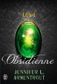 Couverture Lux, tome 1 : Obsidienne Editions J'ai Lu 2014