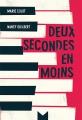 Couverture Deux secondes en moins Editions Magnard 2018