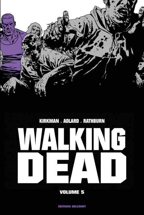 Couverture Walking dead, prestige, tome 5
