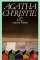 Couverture A.B.C. contre Poirot / ABC contre Poirot Editions Le Livre de Poche 1990