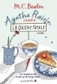 Couverture Agatha Raisin enquête, tome 01 : La quiche fatale Editions Albin Michel 2017