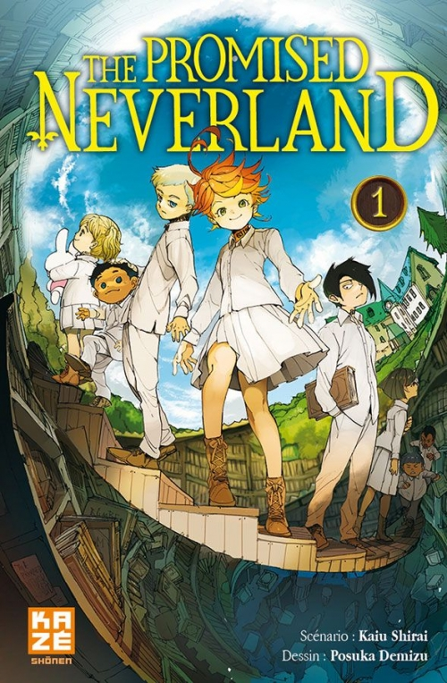 Couverture The promised neverland, tome 01