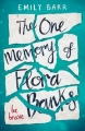 Couverture Flora Banks Editions Penguin books 2017