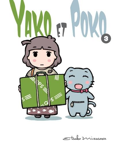 Couverture Yako et Poko, tome 3