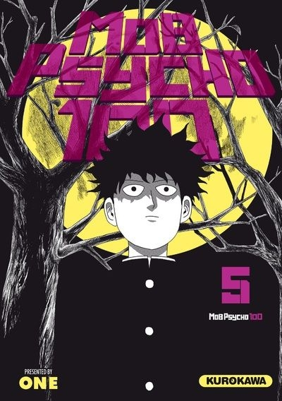 Couverture Mob psycho 100, tome 5