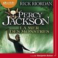 Couverture Percy Jackson, tome 2 : La Mer des monstres Editions Audiolib 2017