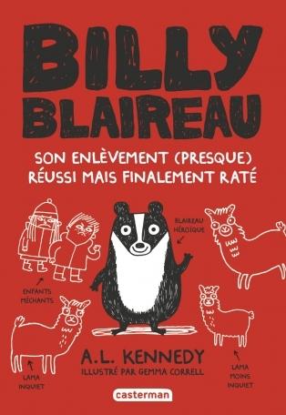 Couverture Billy Blaireau : Son enlèvement (presque) réussi mais finalement raté