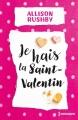 Couverture Je hais la Saint-Valentin Editions Harlequin (Hors série) 2018