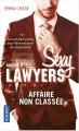 Couverture Sexy lawyers, tome 3 : Affaire non classée Editions Pocket 2018