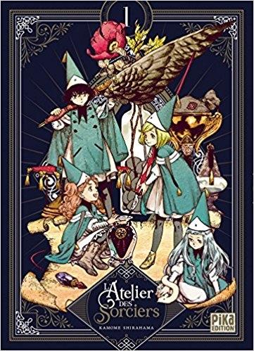 Couverture L'atelier des sorciers, tome 1