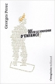 Couverture W ou le souvenir d'enfance Editions Gallimard  (L'imaginaire) 2017