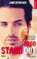Couverture Stand-out, tome 2 : Diego Editions Hugo & cie (New romance) 2018