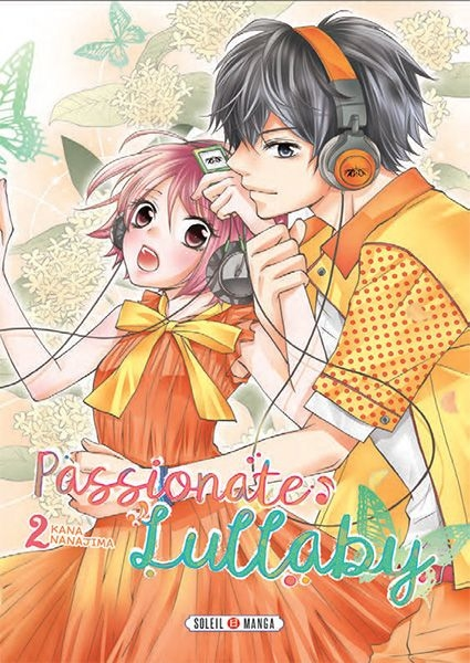 Couverture Passionate lullaby, tome 2