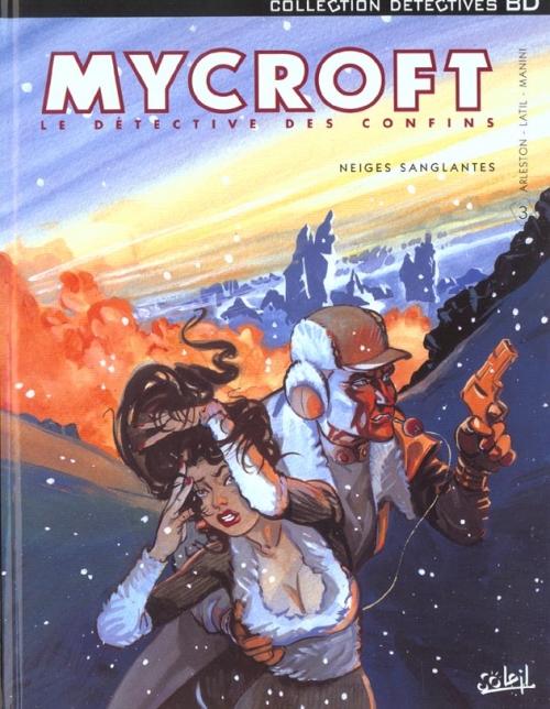 Couverture Mycroft Inquisitor, tome 3 : Neiges Sanglantes