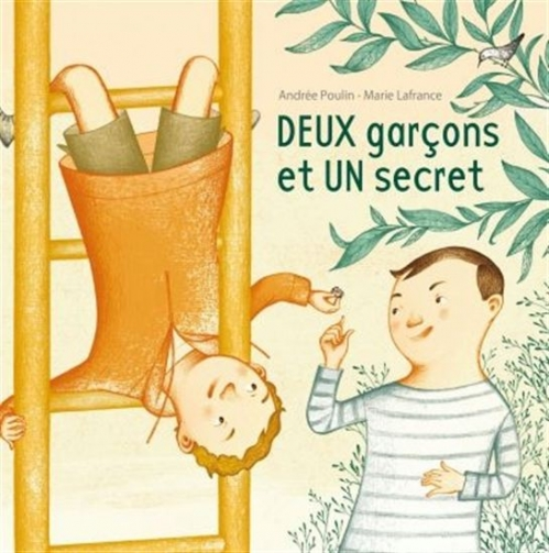 Couverture Deux garçons et un secret