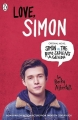 Couverture Moi, Simon, 16 ans, homo sapiens / Love, Simon Editions Penguin books 2018
