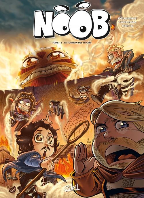 Couverture Noob (BD), tome 12 : Le tournoi des espoirs