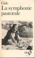 Couverture La symphonie pastorale Editions Folio  1987