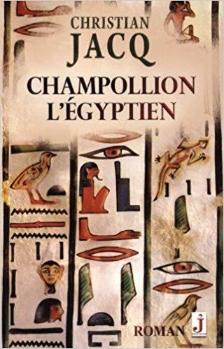 Couverture Champollion l'égyptien
