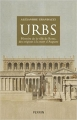 Couverture Urbs Editions Perrin 2017