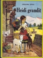 Couverture Heidi grandit Editions Flammarion (Jeunesse) 1949
