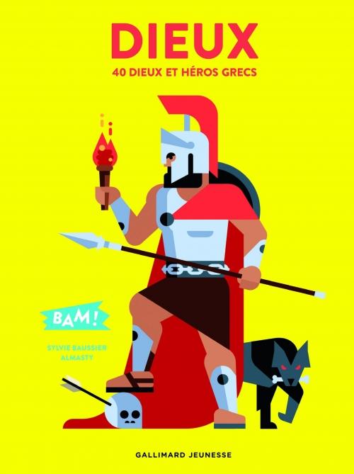 Couverture Dieux : 40 dieux et héros grecs