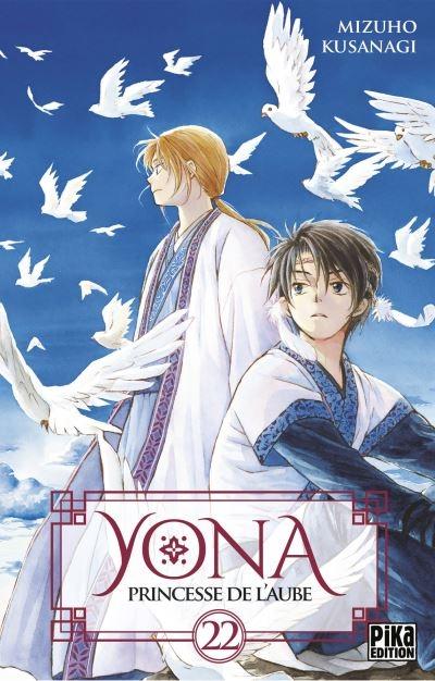 Couverture Yona, princesse de l'aube, tome 22