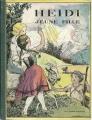Couverture Heidi jeune fille / Heidi, jeune fille Editions Flammarion (Jeunesse) 1936