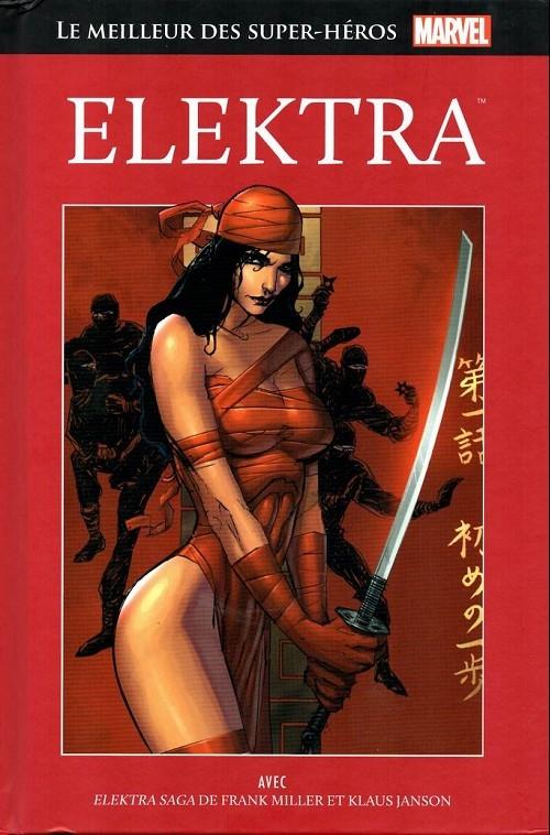 Couverture Le meilleur des super-héros Marvel : Elektra